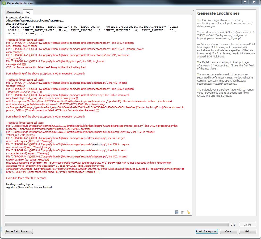OSR Tools QGIS 3 2 - QGIS - openrouteservice